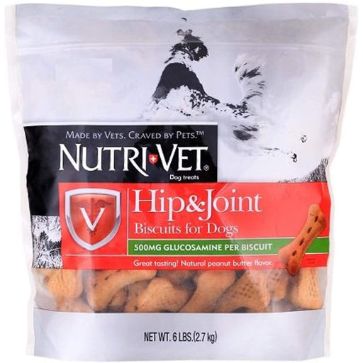 Nutri-Vet Glucosamine Hip and Joint Large Biscuits 6lb
