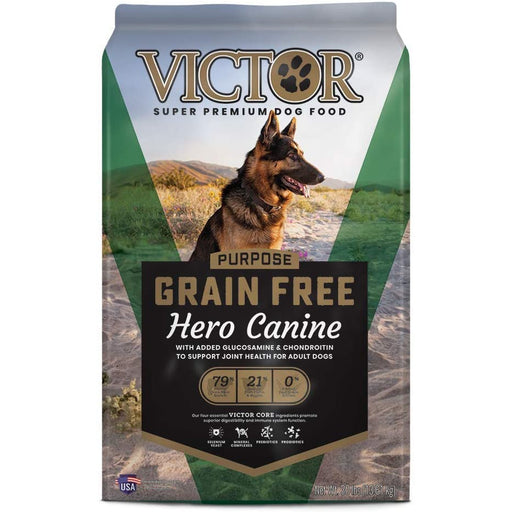 VICTOR Purpose - Grain Free Hero Canine, Dry Dog Food 30lb