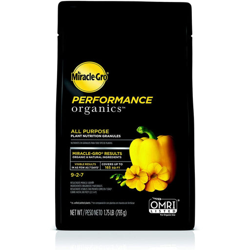Miracle Gro Performance Organic Fertilizer 1.75lb