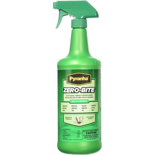 Pyranha Zero-Bite All Natural Fly Spray 32oz