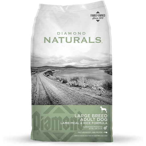 Diamond Naturals Large Breed Lamb & Rice 40lb