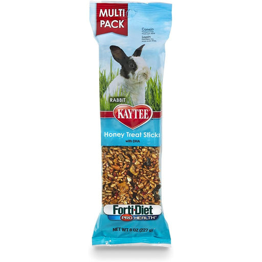 Kaytee Forti-Diet Pro Health Honey Stick Rabbit Treat 8oz