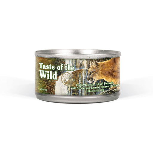 Taste of the Wild Grain Free Rocky Mountain Wet Canned Cat Food 3oz, Case of 24
