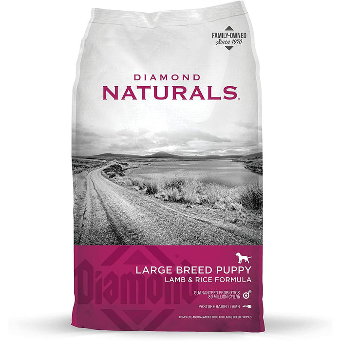 Diamond Naturals Puppy Large Breed Lamb & Rice 40lb