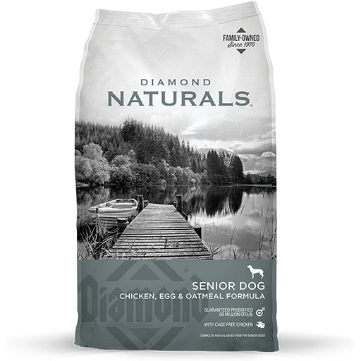 Diamond Naturals Senior Dog Chicken, Egg, & Oatmeal 35lb