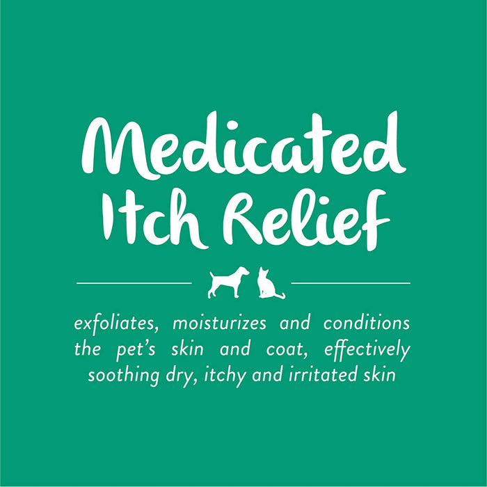 Shampoo Tropiclean Medicated Itch Relief Oatmeal & Tea Tree Oil 20oz