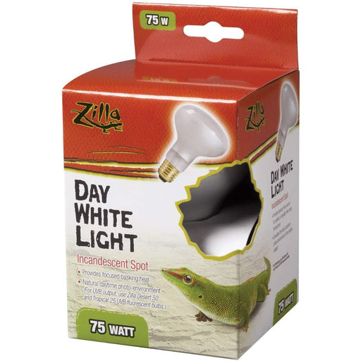 Zilla Incandescent Day White Light Bulb for Reptiles 75W