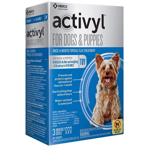 Activyl Dog 4-14lb Toy 3 Month