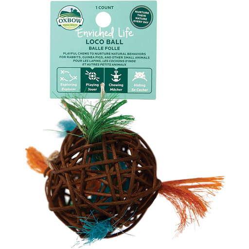 Oxbow Enriched Life Loco Ball