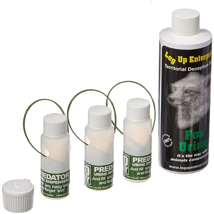 Leg Up Fox Urine 8oz w/Dispensers