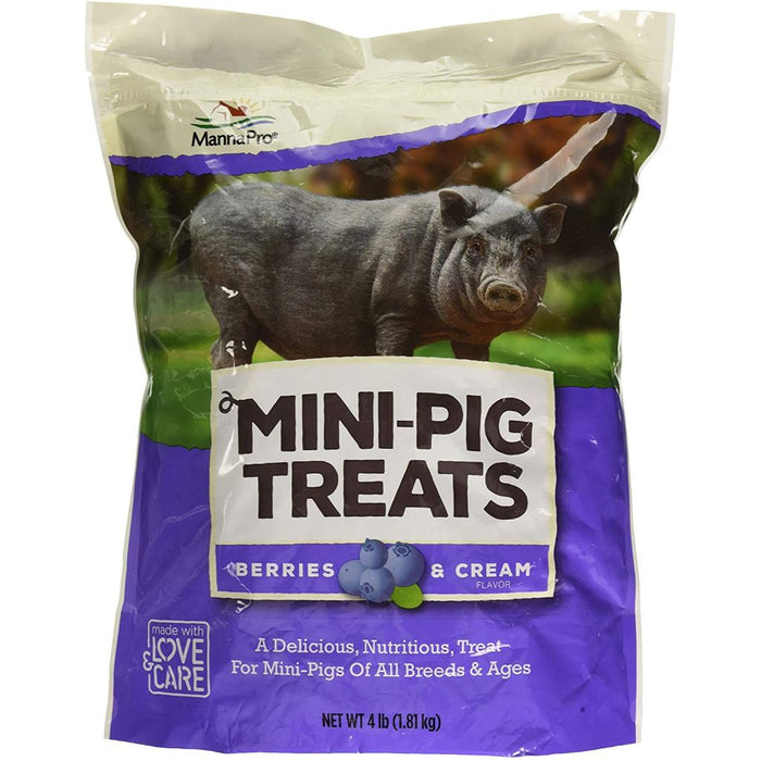Manna Pro Mini Pig Treats Berries & Cream 4lb