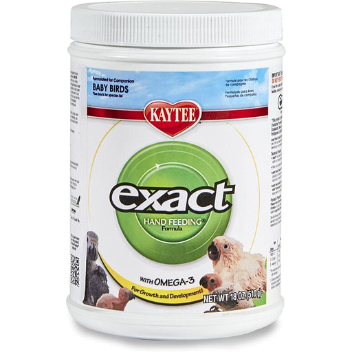Kaytee Exact Hand Feeding Formula for All Baby Birds 18oz