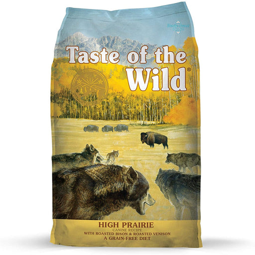 Taste of the Wild Grain Free High Prairie with Roasted Bison and Roasted Venison