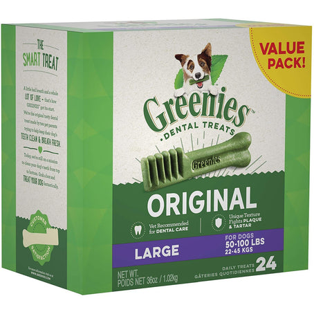 Greenies Tub Original Large Value 36oz