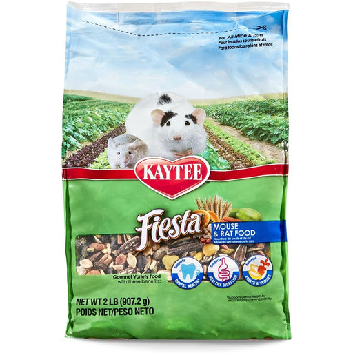 Kaytee Fiesta Mouse and Rat Food 2lb