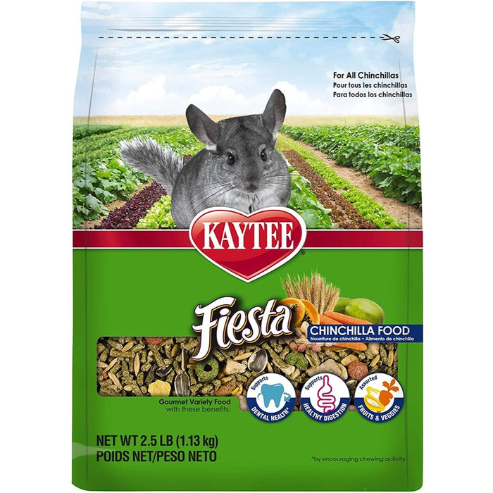 Kaytee Fiesta Chinchilla Food 2.5lb