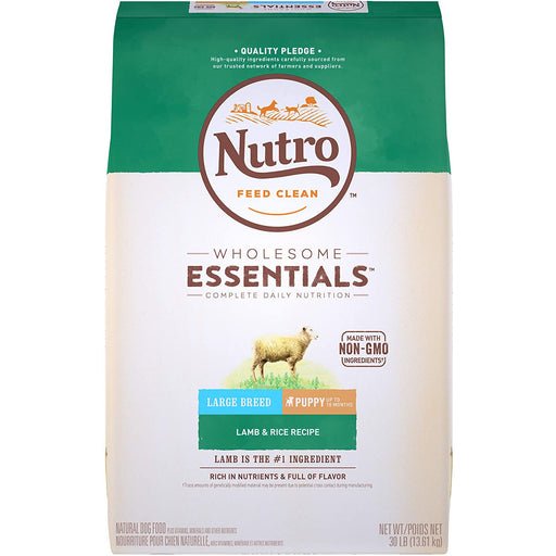 Nutro Wholesome Essentials Puppy Large Breed Lamb & Rice 30lb