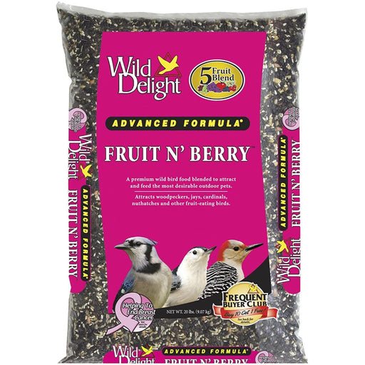 Wild Delight Fruit N' Berry Bird Food 20lb