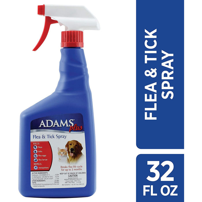 Adams Plus Flea Spray Mist 32oz