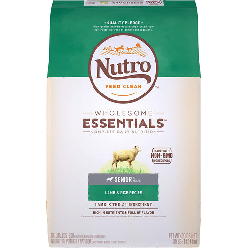 Nutro Wholesome Essentials Senior Lamb & Rice 30lb