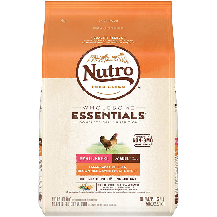 Nutro Wholesome Essentials Adult Small Breed Chicken 5lb