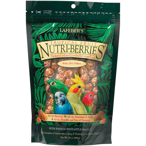 Lafeber's Tropical Fruit Nutri-Berries for Small Birds 10oz