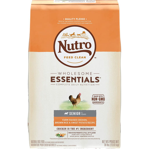 Nutro Wholesome Essentials Senior Chicken & Rice 30lb