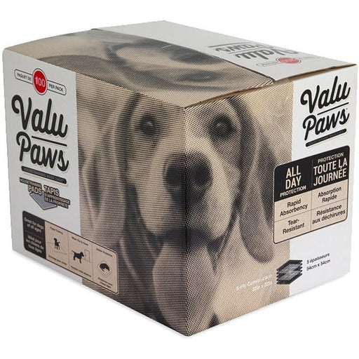 Valu Paws Puppy Pads 100ct