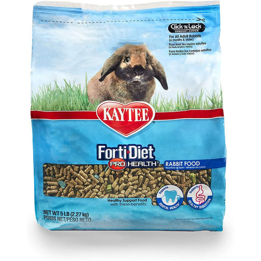 Kaytee Forti-Diet Pro Health Adult Rabbit Food 5lb
