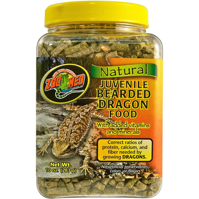 Zoo Med Juvenile Bearded Dragon Food 10oz