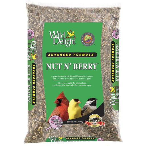 Wild Delight Nut N' Berry Bird Food 20lb