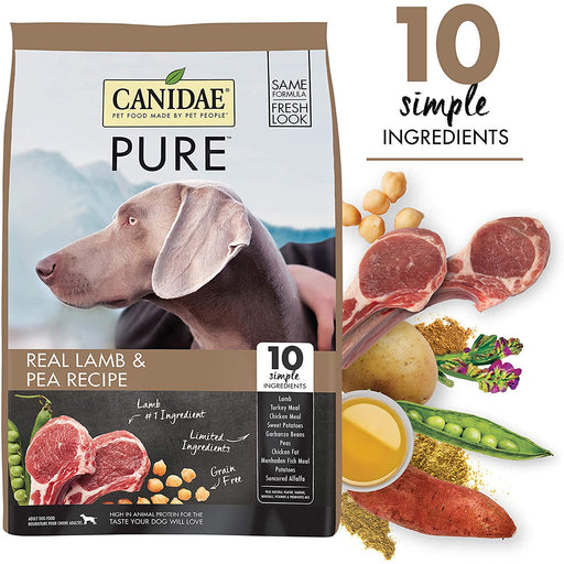 Canidae Dog Grain Free Pure Elements 24lb