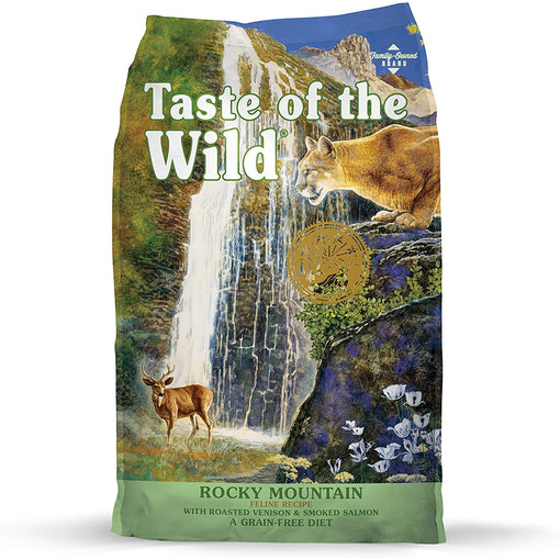 Taste of the Wild Grain Free Rocky Mountain with Roasted Venison and Smoked Salmon
