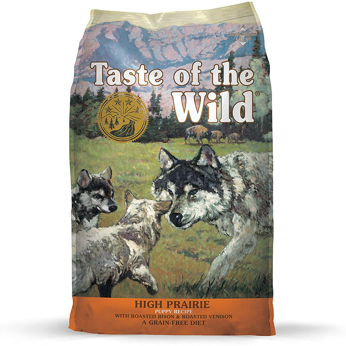 Taste of The Wild Grain Free High Prairie Puppy with Roasted Bison and Venison