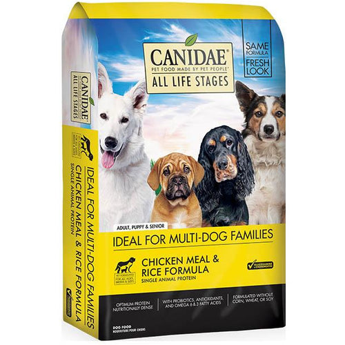 Canidae Dog Chicken & Rice