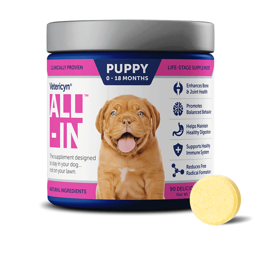 Vetericyn All-in Puppy Vitamin Supplement 90ct