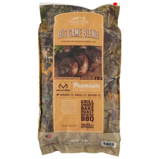 Realtree Big Game Blend Wood Pellets 33lb