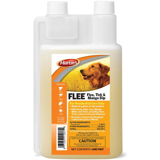 Martins Flea, Tick, & Mange Dip 16oz