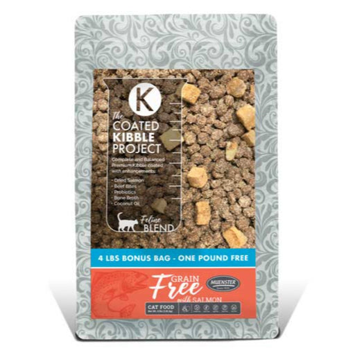 Muenster Grain Free Coated Kibble Salmon Flavor 4lb