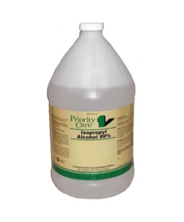 Priority Care Isopropyl Alcohol 99% 1 Gallon