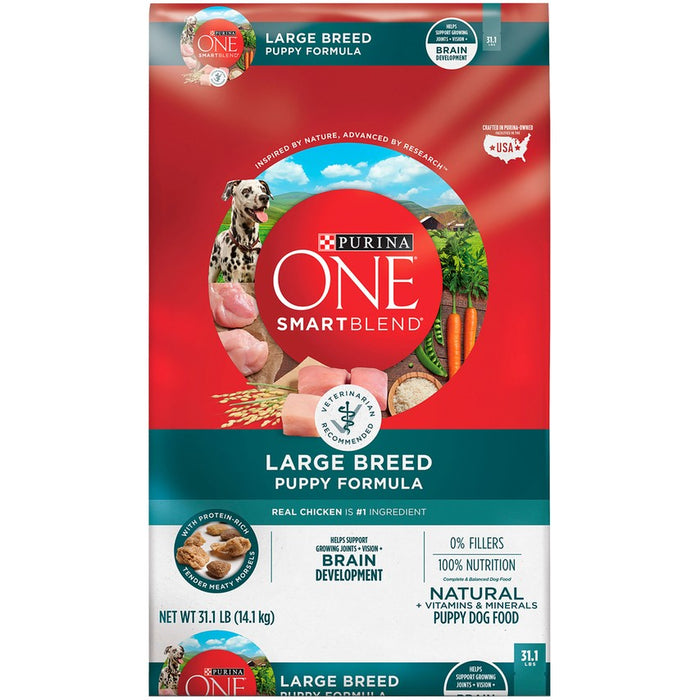 Purina One Puppy Large Breed 31.1lb