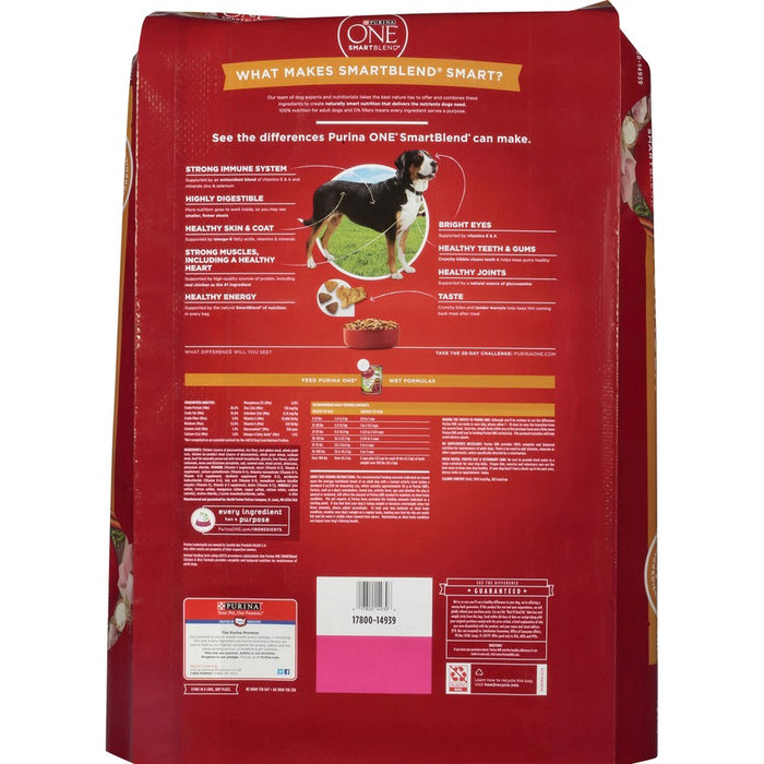Purina One Dog Chicken & Rice 31.1lb