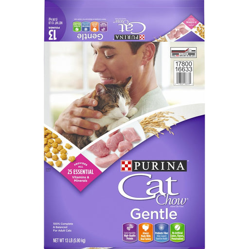 Purina Cat Chow Gentle 13lb