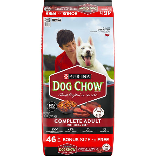 Purina Dog Chow Beef 42lb