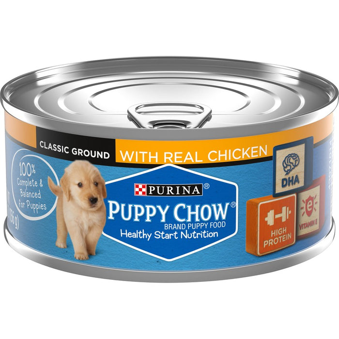 Purina Puppy Chow Can Chicken 5oz 24ct