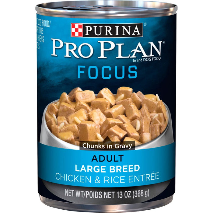 Pro Plan Dog Can Large Breed Chicken & Rice 13oz 12ct