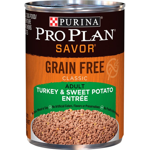 Pro Plan Dog Can Grain Free Turkey & Sweet Potato 13oz 12ct