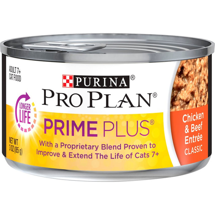 Pro Plan Cat Can Prime Plus Chicken & Beef 3oz 24ct
