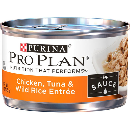 Pro Plan Cat Can Chicken Tuna Wild Rice 3oz 24ct