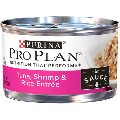 Pro Plan Cat Can Tuna Shrimp & Rice 3oz 24ct